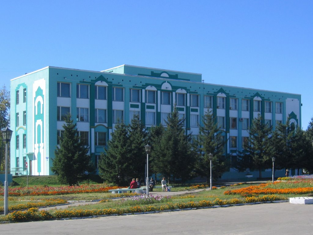 О городе Белогорск
